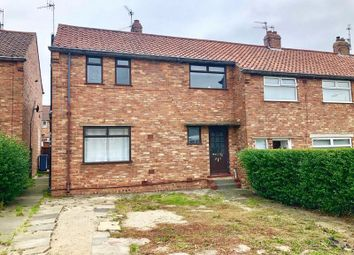Thumbnail 3 bed end terrace house for sale in Overdale, Eastfield, Scarborough