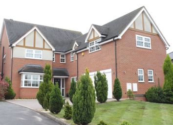 Thumbnail 5 bed detached house for sale in Harrowby Drive, Newcastle-Under-Lyme