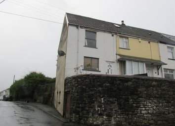 Thumbnail 2 bed end terrace house for sale in Mill Street, Trecynon, Aberdare