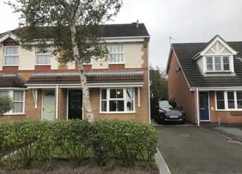 Thumbnail 3 bed semi-detached house for sale in Lawrence Close, Ellistown, Coalville