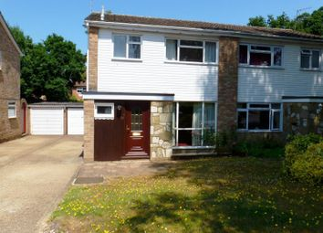 Thumbnail 3 bed semi-detached house to rent in Oakfields, Guildford