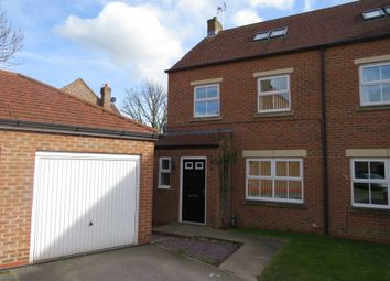 Thumbnail 4 bed semi-detached house for sale in The Laurels, Barlby, Selby