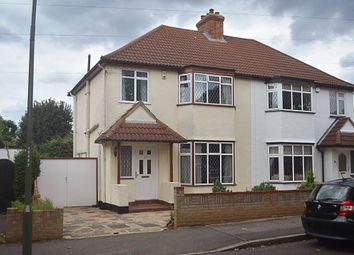 Thumbnail 3 bed semi-detached house for sale in Blenheim Road, Bickley, Bromley