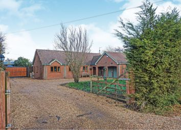 Thumbnail 4 bedroom detached bungalow for sale in Langwood Fen Drove, Chatteris