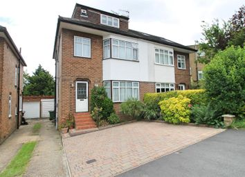 Thumbnail 5 bed semi-detached house for sale in Highland Drive, Bushey