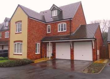 Thumbnail 5 bed detached house for sale in Golwg Y Coed, Barry
