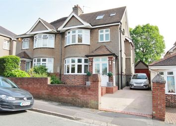 Thumbnail 4 bed semi-detached house for sale in Heather Road, Newport