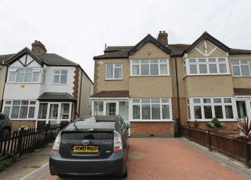 Thumbnail 3 bed semi-detached house for sale in Northfield Crescent, North Cheam, Sutton
