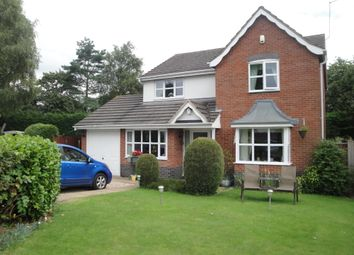 Thumbnail 4 bed detached house to rent in Waterside Drive, Market Drayton