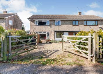 Thumbnail 3 bed semi-detached house for sale in Manor Road, Bungay