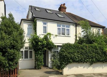 Thumbnail 4 bedroom semi-detached house for sale in Bushy Park Road, Teddington