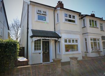 Thumbnail 3 bed semi-detached house for sale in Church Hill, Aldershot, Hampshire