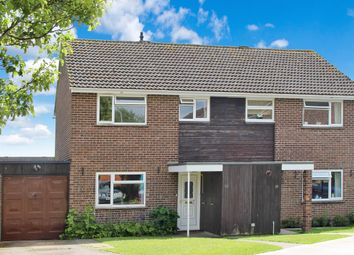Thumbnail 3 bed semi-detached house for sale in Lancaster Close, Hungerford