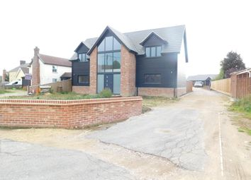 Thumbnail 4 bed detached house for sale in Falkenham Road, Kirton