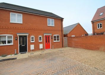 Thumbnail 2 bedroom semi-detached house for sale in Verbena Road, Cringleford, Norwich