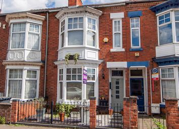 Thumbnail 3 bed terraced house for sale in Fosse Road South, West End, Leicester