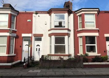 Thumbnail 3 bed terraced house for sale in Cranborne Road, Liverpool