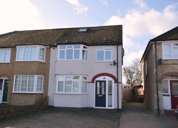 4 bed semi-detached house for sale in Beverley Close, Chessington, Surrey. KT9