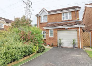 Thumbnail 3 bedroom detached house for sale in Willowmead Close, Scunthorpe