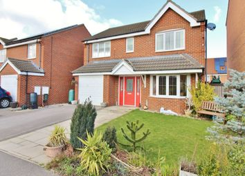 Thumbnail 4 bed detached house for sale in Teal Close, Wombwell, Barnsley