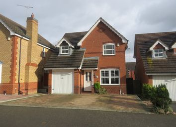 Thumbnail 3 bed detached house for sale in Cornflower Drive, Rugby