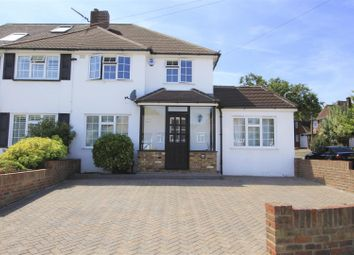 Thumbnail 4 bed semi-detached house for sale in Copthall Road West, Ickenham, Uxbridge