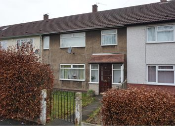 Thumbnail 3 bed terraced house for sale in Moorcroft Road, Manchester