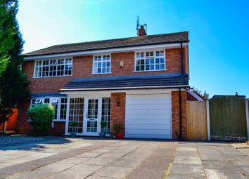 Thumbnail 4 bed detached house for sale in St. Chads Close, Nantwich
