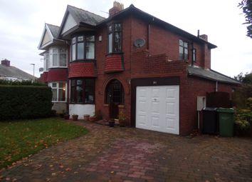 Thumbnail 3 bed semi-detached house for sale in Jubilee Estate, Ashington