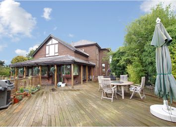 Thumbnail 5 bed detached house for sale in School Lane, Warrington