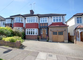 Thumbnail 4 bed semi-detached house for sale in Broadfields Avenue, Winchmore Hill