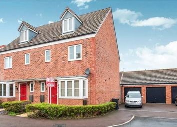 Thumbnail 4 bed town house for sale in Stafford Close Kingsway, Quedgeley, Gloucester, Gloucestershire