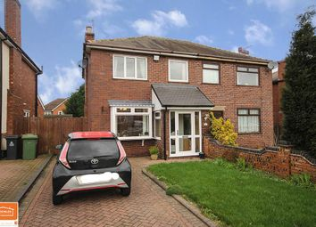 3 bed semi-detached house for sale in King George Crescent, Rushall, Walsall WS4