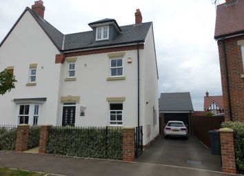 Thumbnail 3 bed semi-detached house for sale in Martell Drive, Kempston, Bedford