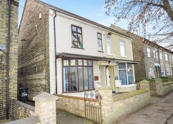Thumbnail 3 bed semi-detached house for sale in Oundle Road, Woodston, Peterborough