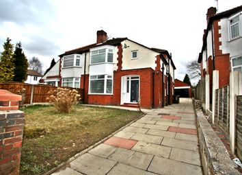 Thumbnail 4 bed semi-detached house for sale in Park Road, Prestwich, Manchester