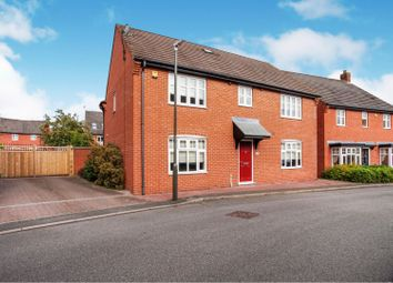 Thumbnail 4 bed detached house for sale in Haywoods Road, Woodville, Swadlincote