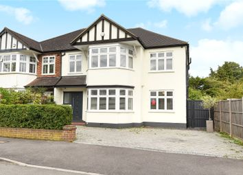 Thumbnail 5 bedroom semi-detached house for sale in The Uplands, Ruislip, Middlesex
