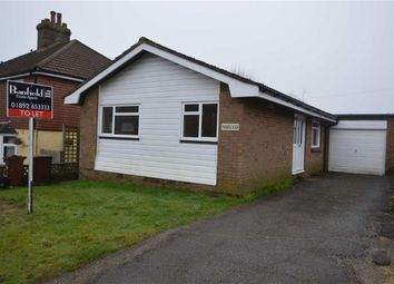 Thumbnail 2 bedroom detached bungalow to rent in Figg Lane, Crowborough