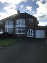 Thumbnail 3 bed semi-detached house to rent in Chester Road, Kingshurst, Solihull