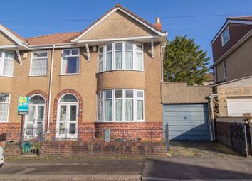 Thumbnail 3 bed semi-detached house for sale in Queens Road, St. George, Bristol