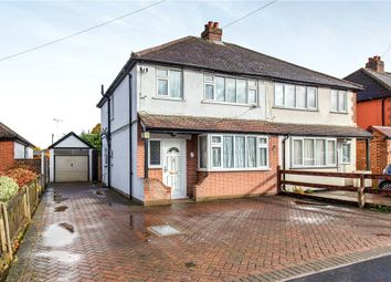 Thumbnail 3 bed semi-detached house for sale in Town Lane, Stanwell, Staines-Upon-Thames, Surrey