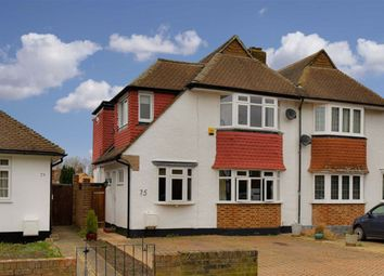 Thumbnail 3 bed semi-detached house for sale in Grafton Road, Worcester Park, Surrey