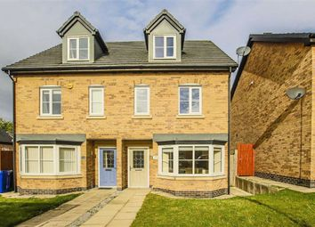 Thumbnail 3 bed town house for sale in Millbank Crescent, Burnley, Lancashire