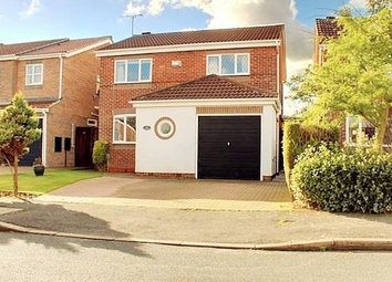 Thumbnail 4 bed detached house to rent in Newton Drive, Beverley
