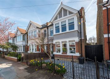 Thumbnail 5 bed semi-detached house for sale in Claremont Road, Teddington