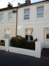 Thumbnail 2 bed terraced house to rent in Newland Road, Worthing