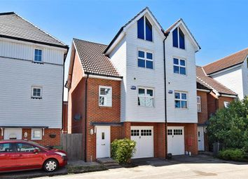 Thumbnail 4 bed town house for sale in Tilling Close, Maidstone, Kent