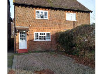 Thumbnail 2 bed semi-detached house for sale in Lodge Oak Lane, Tonbridge
