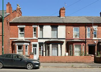 Thumbnail 3 bed terraced house for sale in Vernon Road, Basford, Nottingham